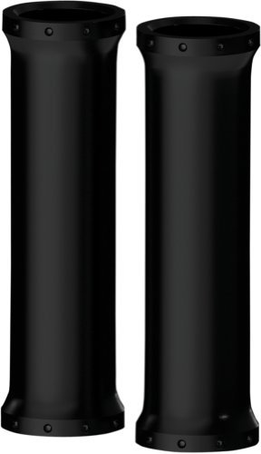 Roland Sands Design Chrono Black Ops 39mm Upper Fork Cover 0208-2077-SMB