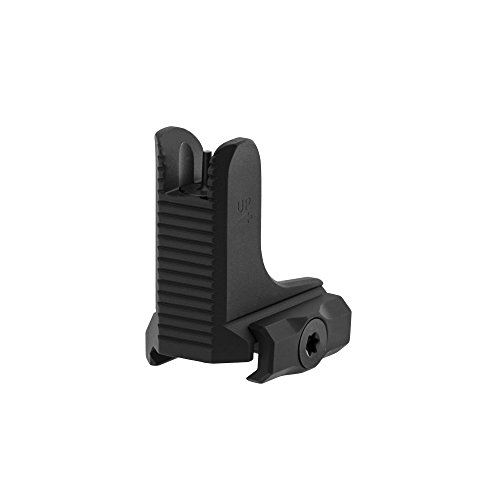 UTG AR15 Super Slim Fixed Low Profile Front Sight Black Hunting Trophy Mounts