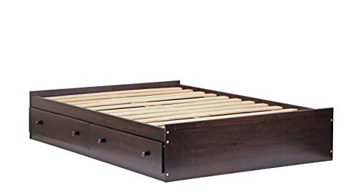 Palace Imports 2446 100% Solid Wood Kansas Full Mate's Pla