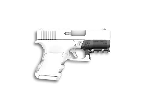(Recover Tactical GR26 Glock 26 and Glock 27 (All Generations) Picatinny Rail - Easy Installation, No Modifications Required to Your Firearm, no Need for a Gunsmith. Installs in Under 3 Minutes)