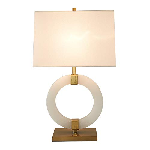 DMMW Lámpara de Mesa - Lámpara de Escritorio Simple con Pantalla ...