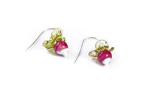 Luna Lovegood inspired radish - Radish Earrings Luna