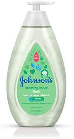 Johnson's Baby Soothing Vapor Bath to Relax Babies, 27.1 fl. oz