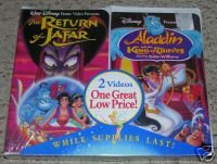 Walt Disney The Return of Jafar/Aladdin and the King of Thieves 2 Pack Special