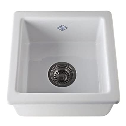 Rohl RC1515WH 15 Inch By 15 Inch By 7 17/32