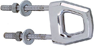 Bow Eye, Twin Shank, Chrome Plated - Seachoice 50-33501