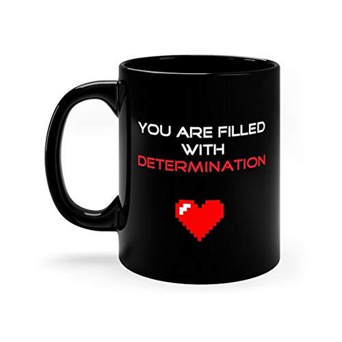 Undertale Coffee Mug Frisk With Determination Video Game Inspired Toriel Sans Papyrus Flowey Chara Asgore Underswap Det ()