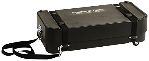Protechtor Cases Protechtor Classic Super Ultra Compact Accessory Case with Wheels Black