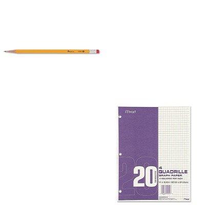 KITMEA19010UNV55400 - Value Kit - Mead Quadrille Graph Paper (MEA19010) and Universal Economy Woodcase Pencil (UNV55400) (Pads Quadrille Mead)