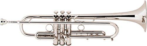 Bach LT190L1B Stradivarius Commercial Series Bb Trumpet LT190SL1B Silver by Bach