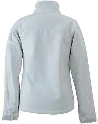 Chaussettes & James Nicholson Veste Softshell Taille L (Blanc cassé).