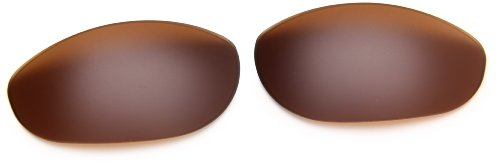 Oakley Monster Dog 16-498 Rimless Sunglasses,Dark Bronze Lens,One Size