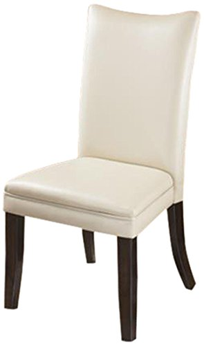 Ashley Furniture Signature Design Charrell Dining UPH Side Chair, Ivory, Set of 2