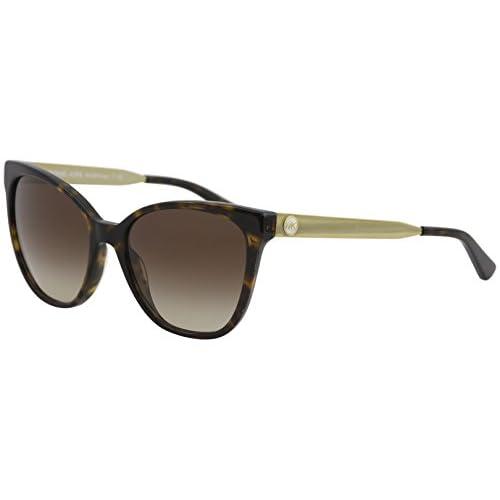 64ed8fd7d9 Michael Kors Napa 329313, Gafas de Sol para Mujer, Marrón (Dark Tortoise/