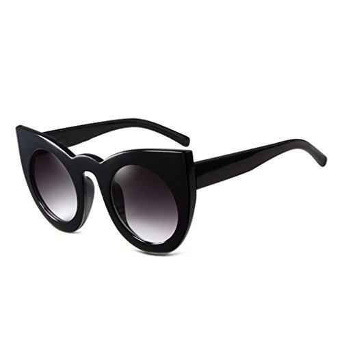 libre aire mujeres de UV400 protección la de gafas Moda al de sol alrededor PC 3 muchacha Gafas Lens sol de Republe Resin gran de marco gqBdg