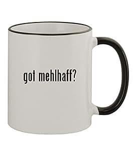 got mehlhaff? - 11oz Black Handle Coffee Mug