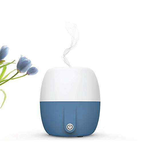 - Anton Aroma Best Essential Oil Diffuser, Scent and Fragrance Aromatherapy, Humidifier - Now with Italian modern Design, 140ml, Extra Long Cord, Timer, Auto Shut Off, Soft Paint, Color LED
