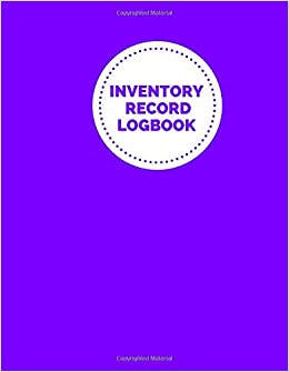 Inventory Record Logbook: Record Stock inventory movement and Office