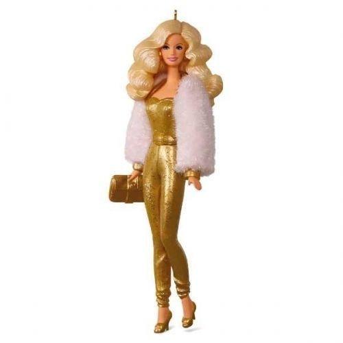 Hallmark 2017 Barbie Golden Dream Limited Edition Ornament