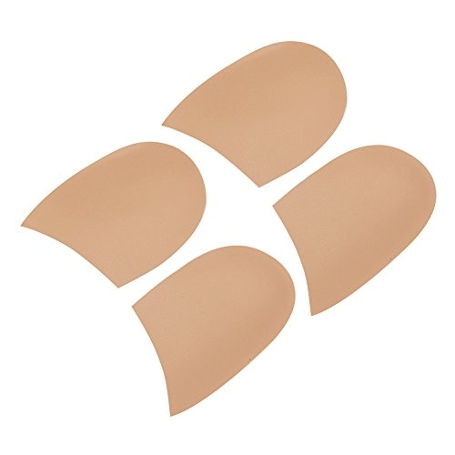 Owfeel Two Pairs Gel Heel Cups Fix Pronation or Supination Foot Support for Men and Women