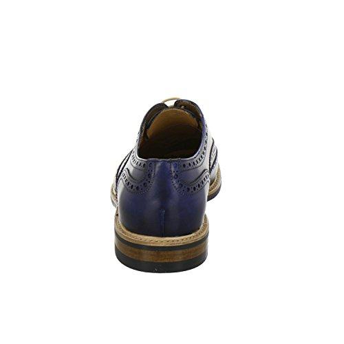 Scarpe 2817 132 Berwick blu stringate 1707 uomo 5wS5qt