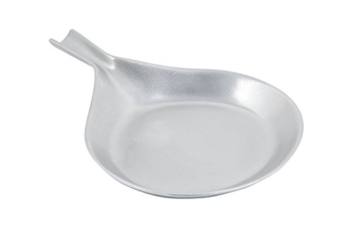 Bon Chef 5012PG Aluminum/Pewter Glo Individual Salad/Sandwich/Egg Pan, 10'' Diameter (Pack of 6) by Bon Chef