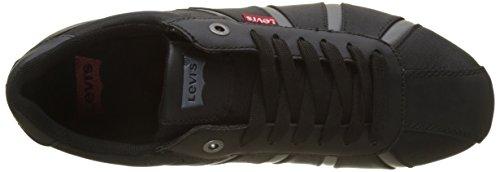 Uomo Brillant Black Nero Sneaker Almayer k Levi's 8fqv66