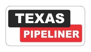 ( 3 ) Texas Pipeliner Funnyハード帽子/ヘルメットステッカー B00OM57W28