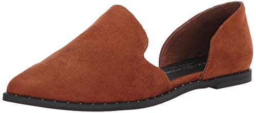 Chinese Laundry Women's EMY Loafer, Umber Suede, 8.5 M US