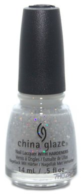 China Glaze Nail Lacquer, Don't Be A Snow-Flake, 0.5 Fluid Ounce -