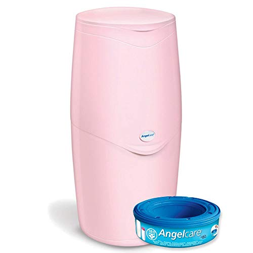 Angelcare Nappy Disposal System, Pink