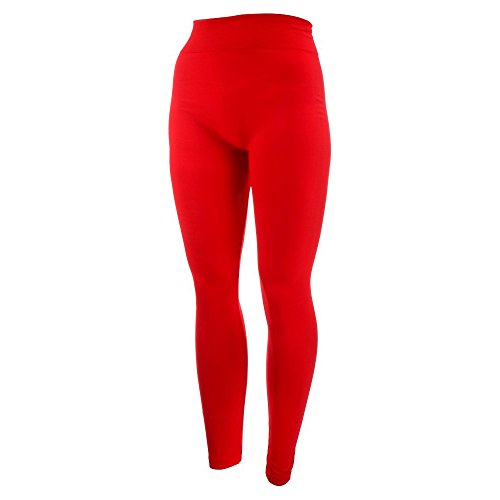 - 3186oEe84CL - New Mix by New Kathy, Ladies Leggings, Red