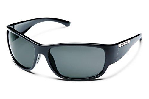 Gray Polarized Lens Sunglasses - 7