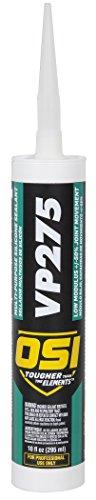 Fiber Cement Siding Manufacturers (OSI VP275 Clear Multi-Purpose Silicone Sealant 10-Fluid Ounces Cartridge (1494058))