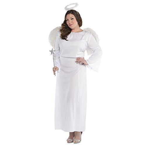 Heaven Angel Costume Sent (Heaven Sent Angel Costume - Plus Size - Dress Size)