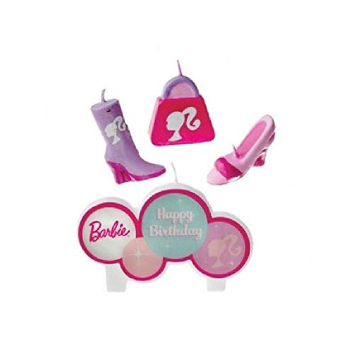 Price comparison product image Barbie Candle Set (4 / pkg) (with Sticky Notes)