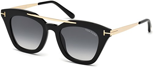 Sunglasses Tom Ford FT 0575 Anna- 02 01B shiny black / gradient - Ford Sunglasses Anna Tom