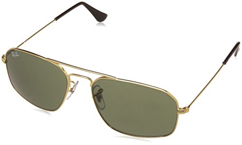 Ray-Ban UV Protected Square Men's Sunglasses – (0RB3382I00155|55|Crystal Green Color)