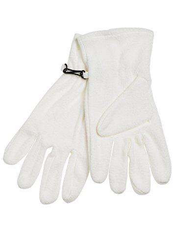 XL M microfibra Blanco mujeres Guantes de S Tama L Gloves y Polar roto en os para hombres varios colores f6axn1w