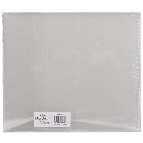 Sizzix 656253 Big Shot Pro Accessory Cutting Pads, Standard, Clear, 1 Pair ()