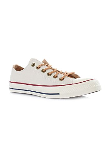 Converse All Star Ox Hombre Zapatillas Blanco Parchment/Biscuit/Egret