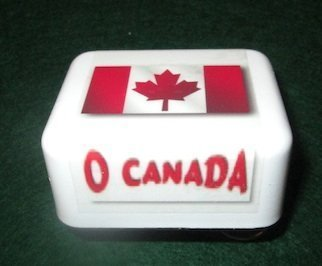 O Canada - Collectable Music Box - Class Usps Canada First To