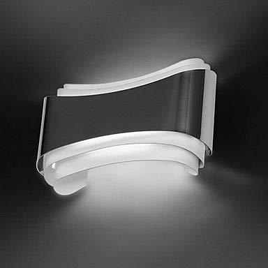 Weiß VLING Wandlampe, Modern Modern Wandlampen & Wandlampen Wandleuchte aus Metall 220V 5W, Warmweiß