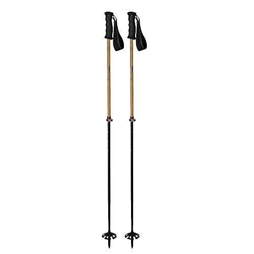 Komperdell Carbon Bamboo Vario Ski Pole (Carbon Poles Ski Komperdell)