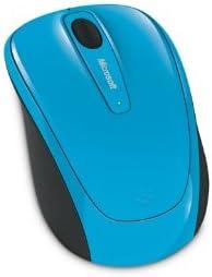 Microsoft Wireless Mobile Mouse 3500 RF Wireless BlueTrack Ambidextrous Blue mice