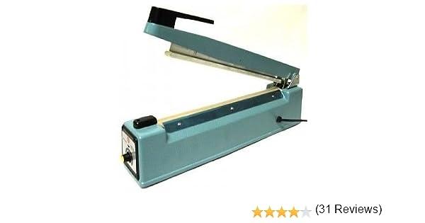 Maquina selladora térmica para bolsas de 20cm mws371: Amazon.es: Bricolaje y herramientas