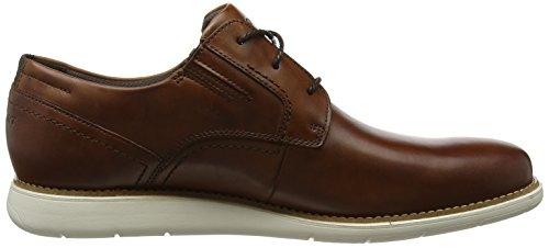 Total Tan Dress Sport Homme 001 Marron Plain Motion Shoe Richelieus Toe Rockport dxwn1Rvd