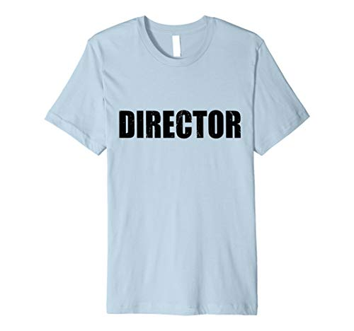 Director T Shirt Halloween Costume Funny Cute Distressed]()