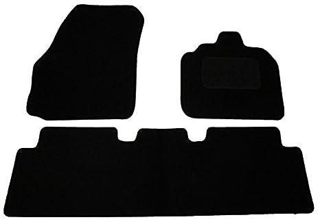 RENAULT TWINGO 2014 ON TAILORED CAR FLOOR MATS CARPET BLACK MAT GREY TRIM