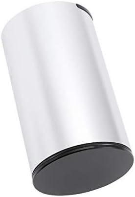 Wakauto 蓋付きプラスチック車の灰皿多機能ポータブル灰皿タバコ灰皿灰車ごみ箱ホームコンテナー収納箱(シルバー)